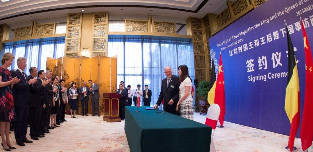 Chine Mission Royale juin 2015